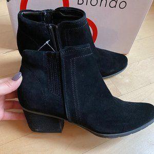 "Blondo ""Valli2"" zip Ankle Boot 9.5 waterproof"